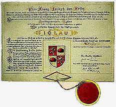 Urk Iglau v. Kaiser Franz Josef.I